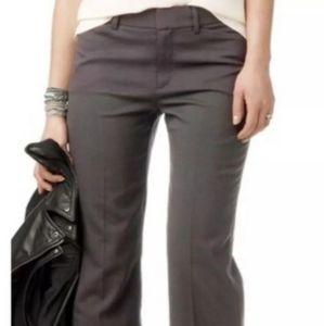 Club Monaco White Linen Trousers